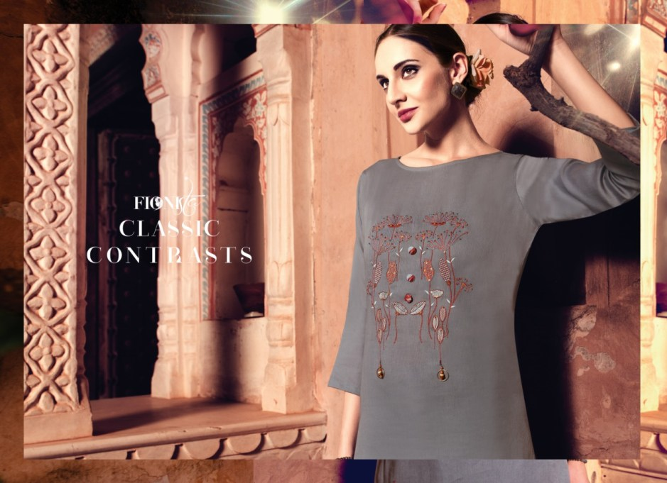 Fionista CHHORI Beautiful casual collection of kurtis