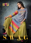 S4U swag vol 3 Stylish party wear kurtis concept