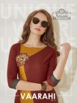 Amore launch vaarahi vol 5 Simple ready to wear kurtis concept