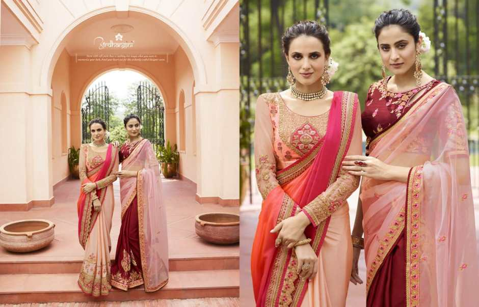 Ardhangini presents SHRUSHTY vol 1 special festive season ethnic wear heavy sarees collection