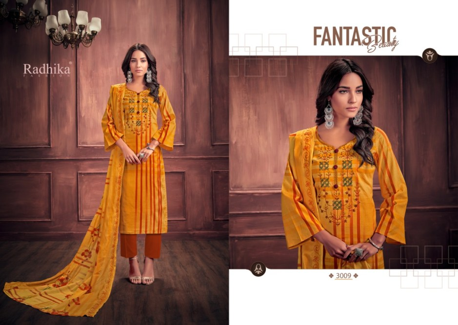 Azara mussaret 3 casual printed salwar kameez collection