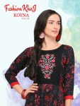 Fashion khoj koyna vol 3 exclusive fancy long kurtis concept