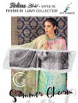 JUVI fashion firdous gold super nX premium lawn collection Fancy daily wear salwar kameez collection