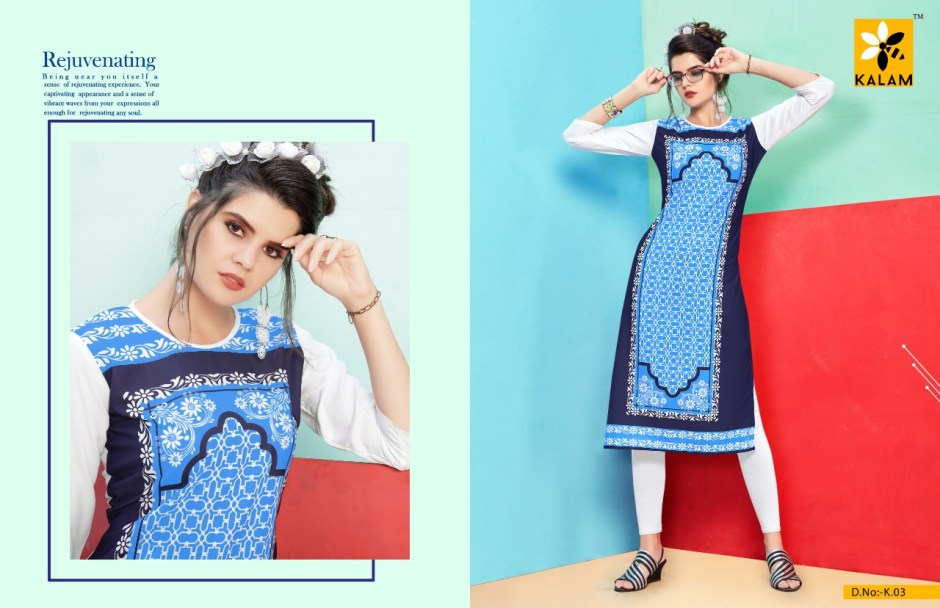 Kalam launch kalam simple casual ready to wear kurtis concept