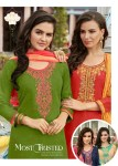 Kalarang creation shagun vol 2 simple casual wear salwae kameez collection