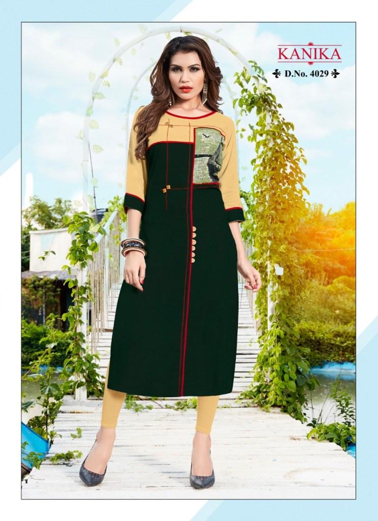 Kanika pashmina vol 4 casual ready to wear kurtis collection