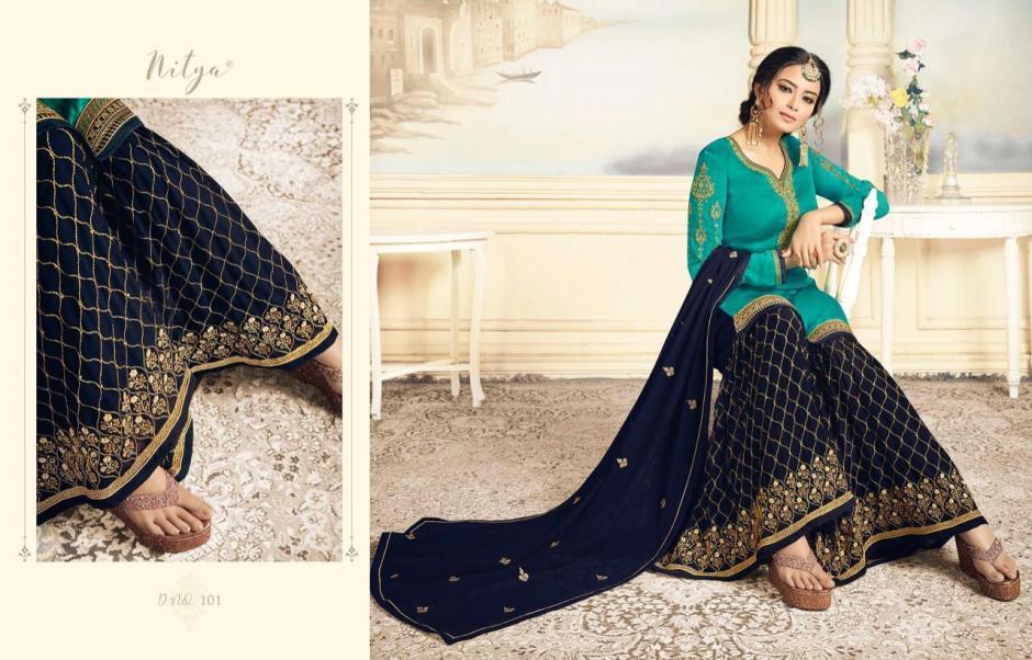 LT fabrics sharara special festive season heavy collection of salwar kameez