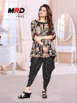 MRD launch beauty queen vol 1 casual ready to wear kurti with dhoti concept