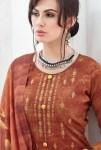 Poorvi designer jasmine simple casual printed salwar kameez collection