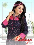 Radhe fashion presenting kudiya vol 1 fancy collection of kurti with patiyala concept