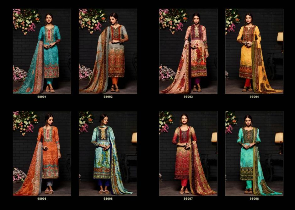 Sargam prints SHALIMAR vol 4 Beautiful printed salwar kameez collection