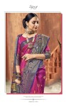 Saroj presents priyanka beautiful rich look sarees concept