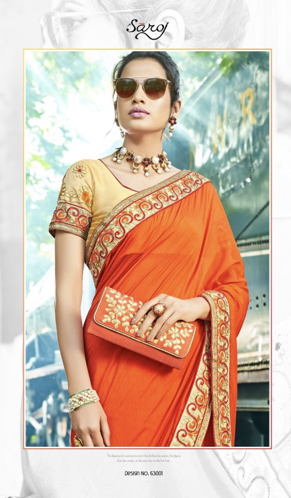 Saroj star light 2 Traditional beautiful sarees collection