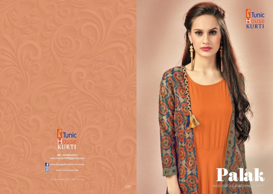 Tunic house jodi palak stylish party wear Gowns concept