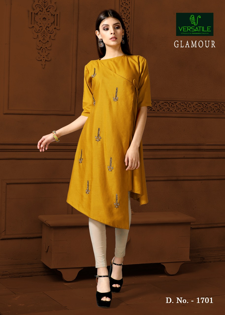 Versatile glamour mesmerising collection of kurtis