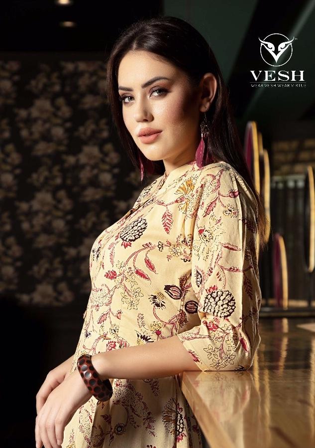 Vesh launch athena beautiful collection of kurtis