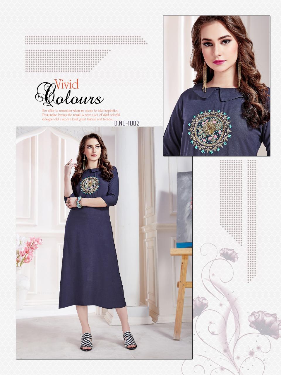 052e0c107 Amber launch seasons stylish party wear kurtis collection