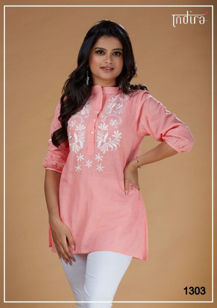 Indira Apparel kameez casual ready to wear short tunics catalog