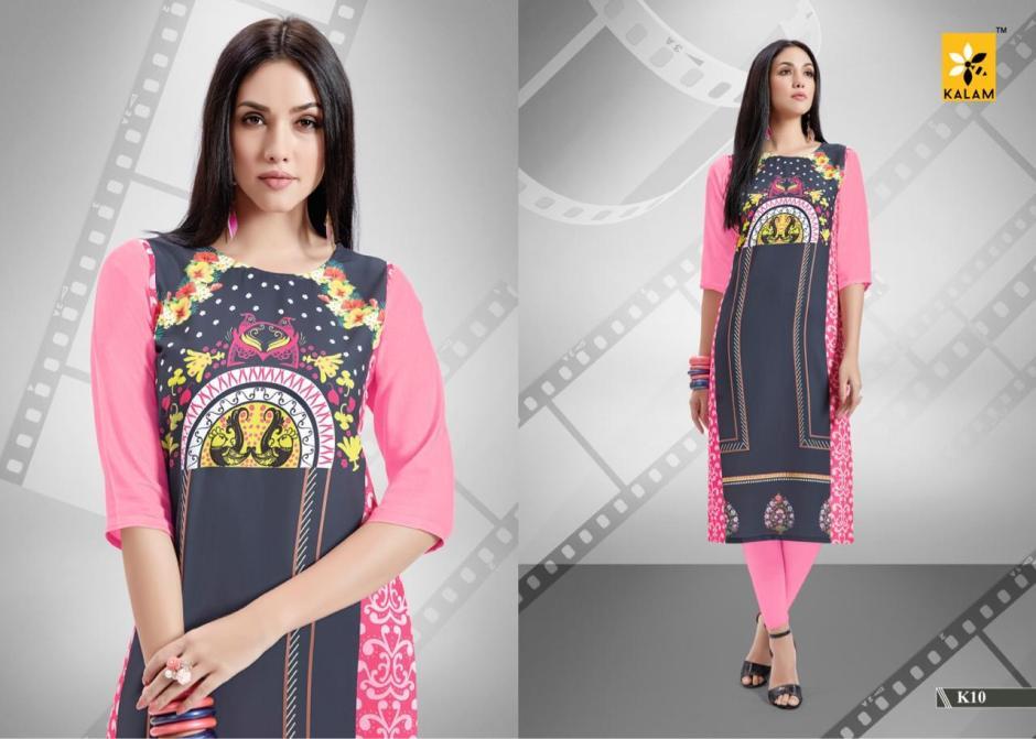 Kalam presents kalam vol 2 simple ready To wear kurtis concept