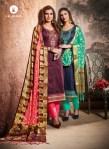 Kalarang alankar vol 4 pure silk salwar Kameez catalog at Wholesale rate