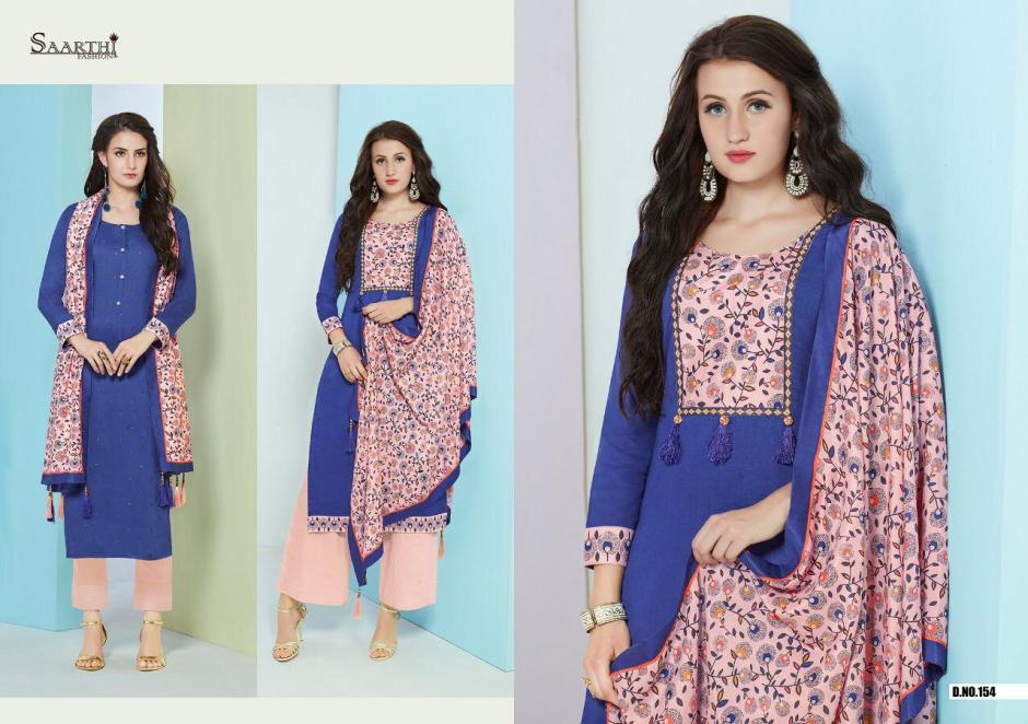 Saarthi fashion autograph Simple casual wear salwar kameez concept