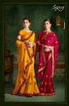 Saroj autograph designer fancy silk sarees traditional wear sarees Collection