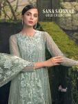 Shree Fabs sana safinaz gold fancy colours salwar Kameez Collection at Wholesale Rate