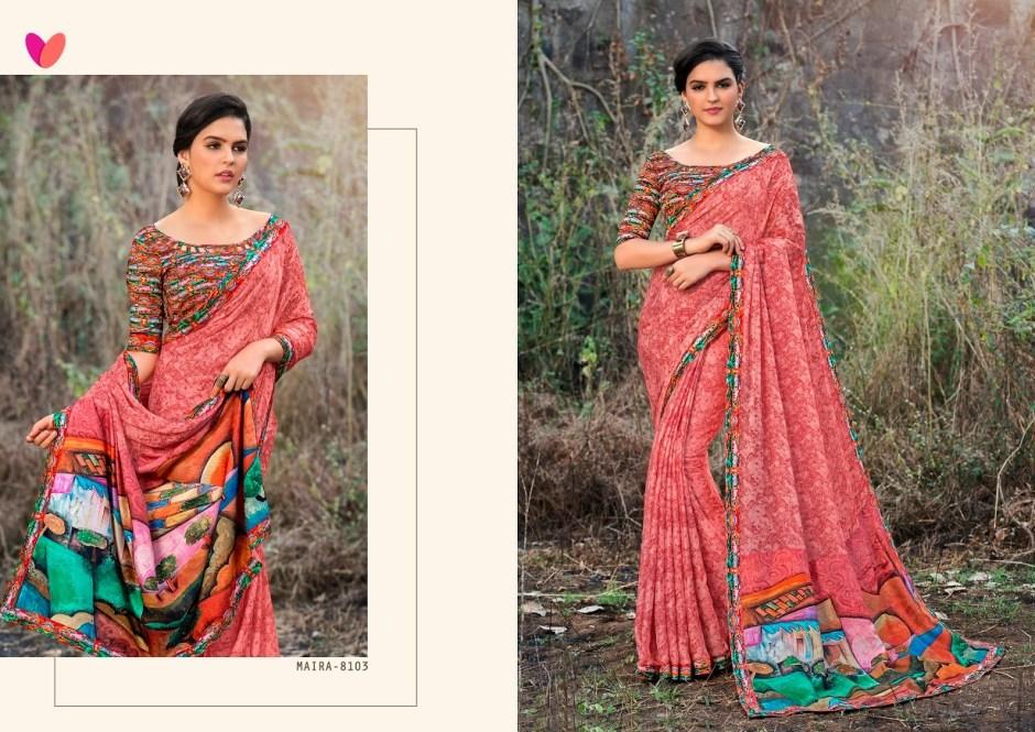 Varsiddhi presents mintorsi mAIRA Digital printed sarees collection