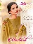 Bela mustard colourful ethnic wear salwar Kameez Collection