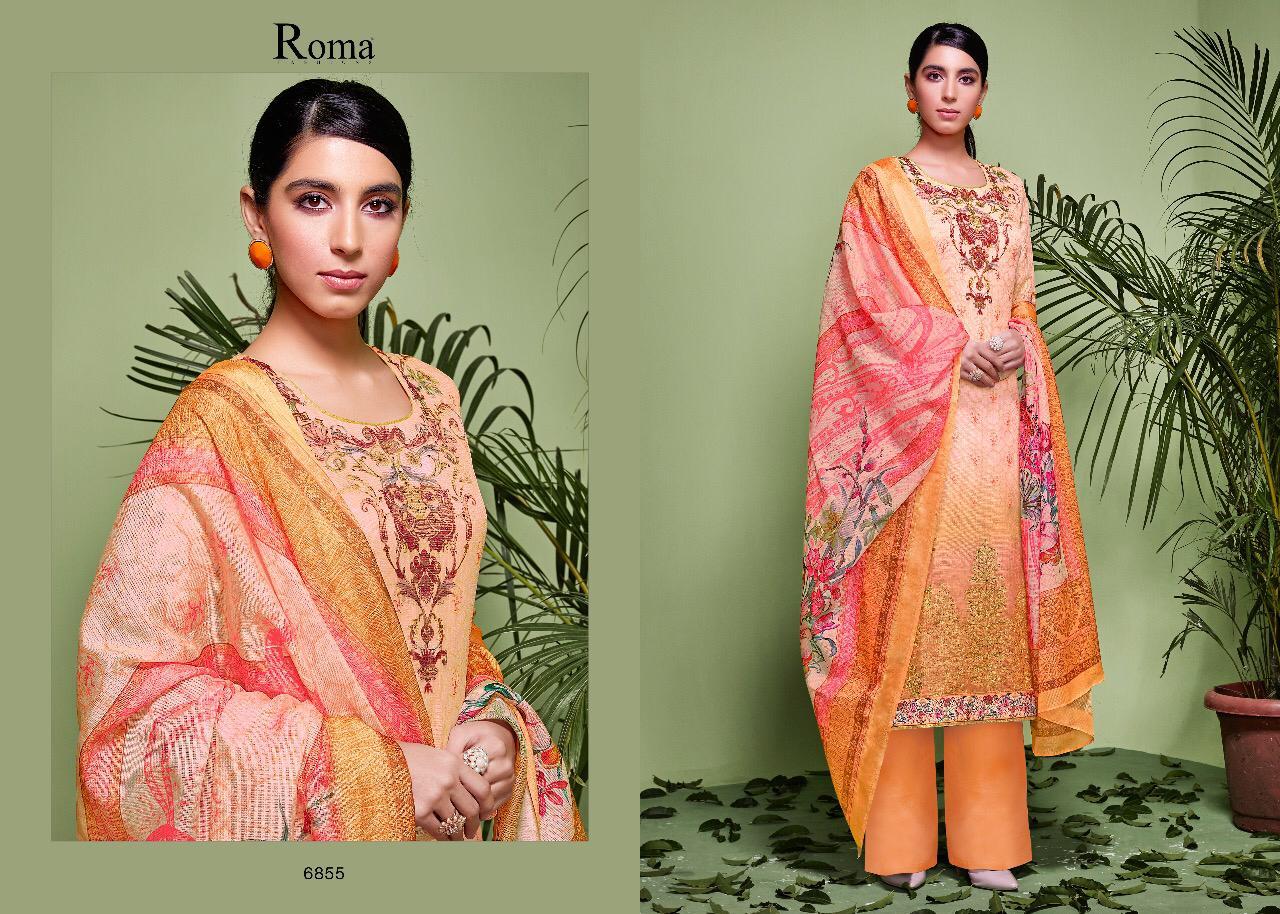 678bc170a4 Jinaam Dress roma Nikki 2 digital printed Salwar Kameez Collection