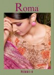 Jinaam Dress roma Nikki 2  digital printed Salwar Kameez Collection