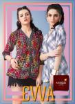 krishriyaa fashion evva colorful casual short tops catalog at reasonable rate