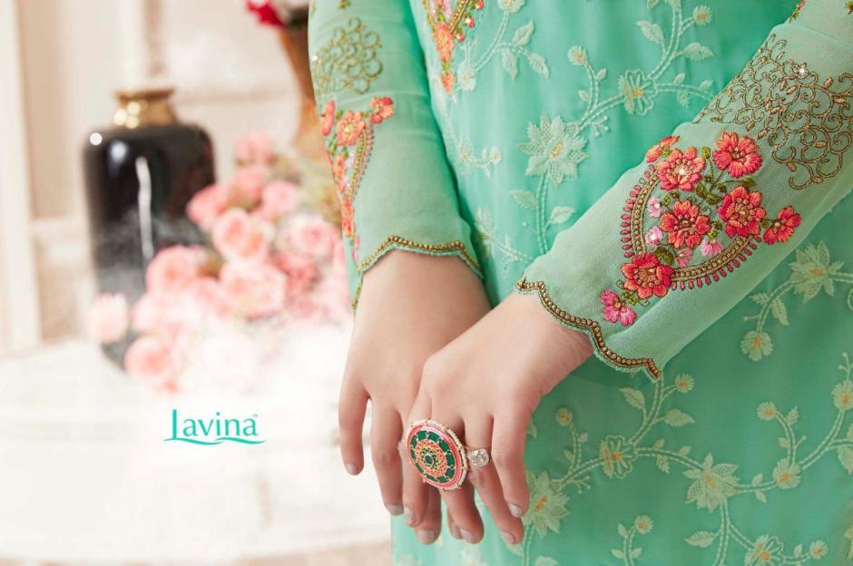 Lavina lavina Vol 50 embroidered colourful Salwar Kameez Collection