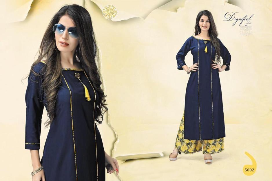 Mistry mistry kurti with plazzo concept ready to wear