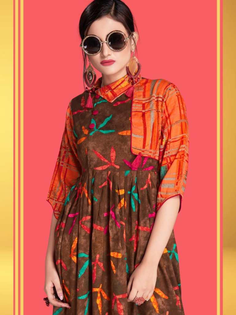 Pahervesh nazakat vol 3 fancy printed ready To Wear Kurties Collection
