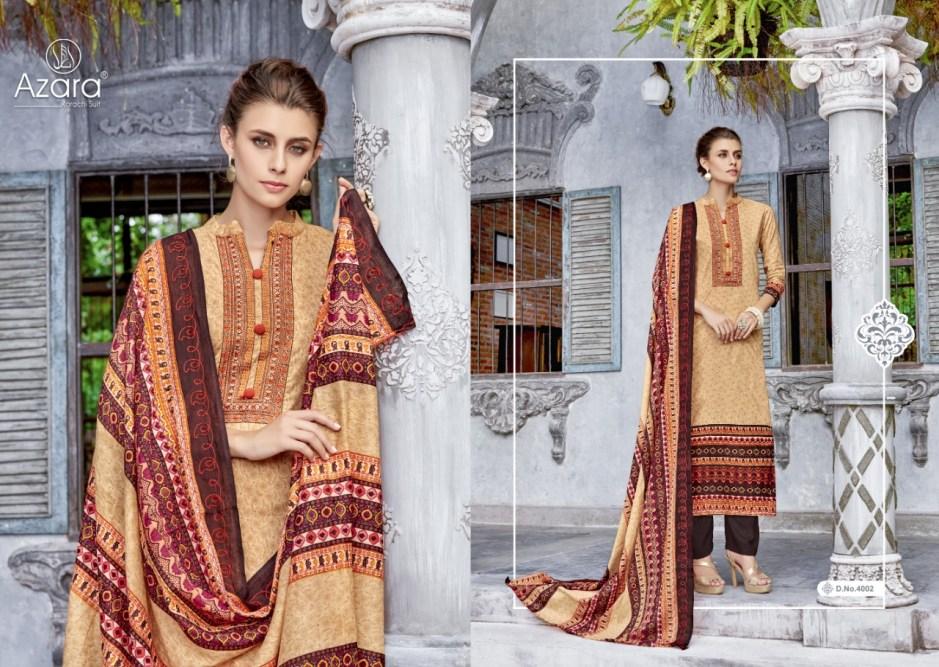 Radhika Azara musseret vol 4 designer Printed Salwar kameez catalog