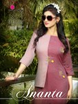 Rungberry Ananta Rayon Straight Kurties Collection At Wholesale Rate