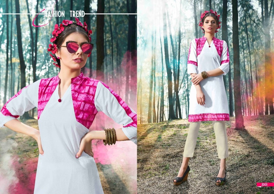 S more fashion crystal vol 2 casual wear fancy Kurties Collection
