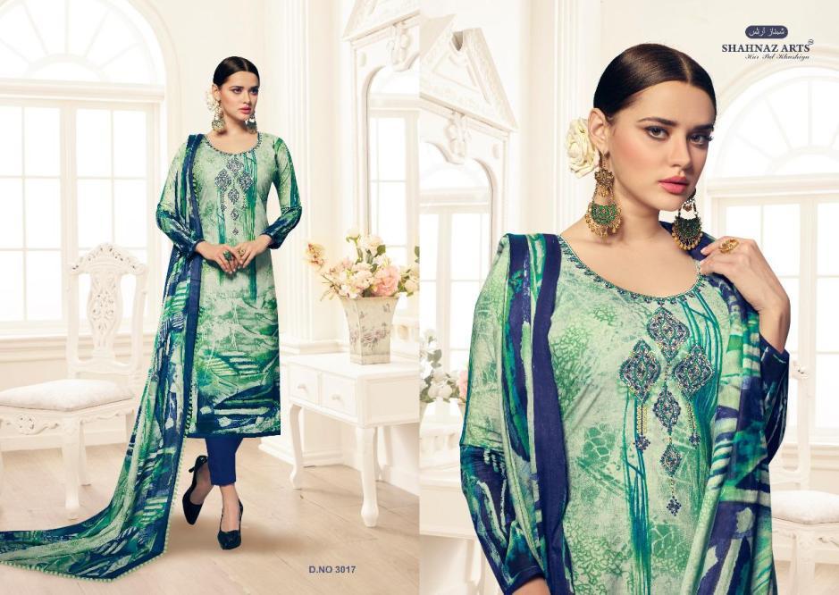 shahnaz  arts floration vol2 casual suits catalog at reasonable rate