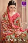 Shangrila kanchana COTTON Vol 12 traditional Wear printed Sarees Collection