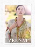 Shraddha Designer zeenat vol 1 heavy Embroidered cotton printed dress material