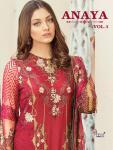 Shree fabs anaya vol 5 embroidered Pakistani salwar kameez collection