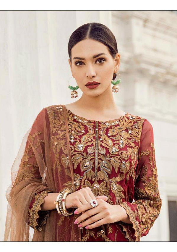 eedb481f4b Shree Fabs iznik vol 3 pakistani dress material collection At Wholesale Rate