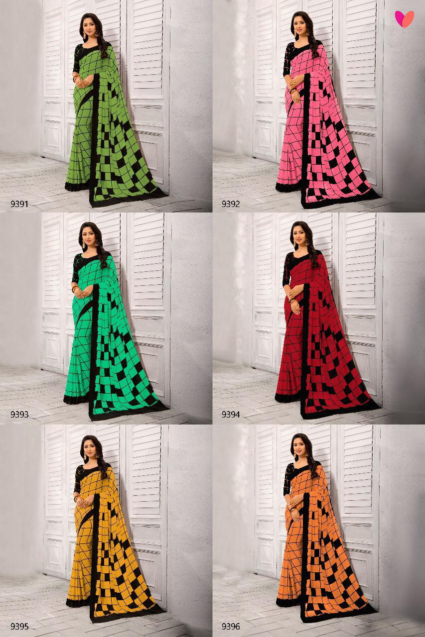 5ca90dfdd5e Varsiddhi mintorsi weightless printed colourful sarees