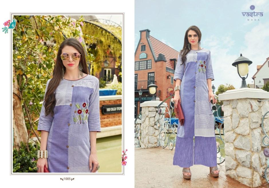 Vastra moda paris vol 1 bright colours Kurties wit plazzo concept