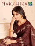 Vishal nakshika vol 9 beautiful designer sarees party wear collection