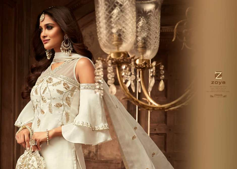 Zoya moments heavy embroidered bridal wear salwar kameez collection at wholesale rate