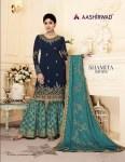 aashirwad shamita sarara desginer fancy outfit collection