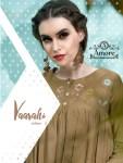 amore vaarahi vol 6 beautiful designer kurtis with plazzo catalog