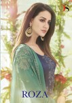 deepsy suit roza colorful heavy salwaar suit collection at reasonable rate
